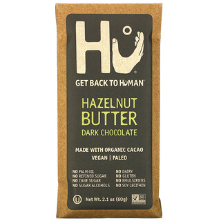 Hu, Hazelnut Butter  Dark Chocolate, 2.1 oz (60 g)