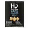 Hu, Grain-Free Crackers, Sea Salt, 4.25 oz (120 g)