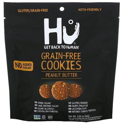 Купить Hu Grain-Free Cookies, Peanut Butter, 2.25 oz (64 g)