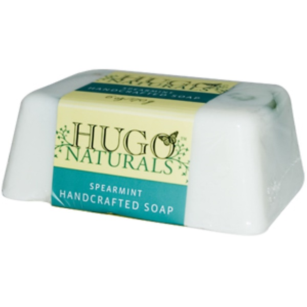 Hugo Naturals, Spearmint Handcrafted Soap, 6 oz (170 g) (Discontinued Item)