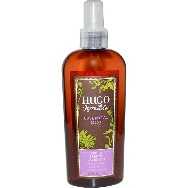 Hugo Naturals, Essential Mist, French Lavender, 8 fl oz (236 ml) (Discontinued Item)