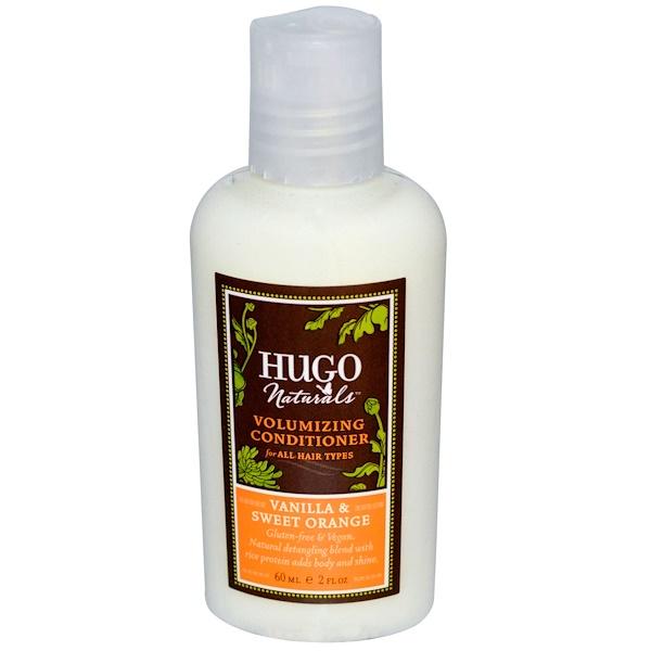 Hugo Naturals, Volumizing Conditioner, Vanilla & Sweet Orange, 2 fl oz (60 ml) (Discontinued Item)