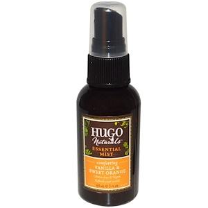 Хьюго Нэчуралс, Essential Mist, Vanilla & Sweet Orange, 2 fl oz (60 ml) отзывы покупателей