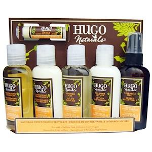 Хьюго Нэчуралс, Vanilla & Sweet Orange Travel Kit, 6 Pieces отзывы покупателей
