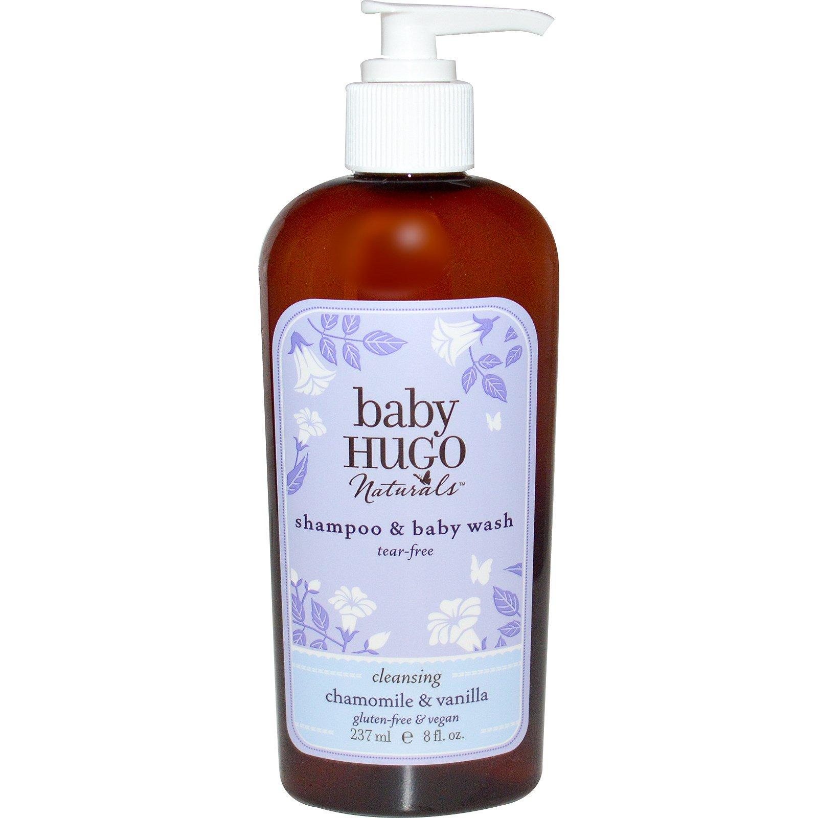 Hugo Naturals, Baby, Shampoo & Baby Wash, Tear-Free, Chamomile ...