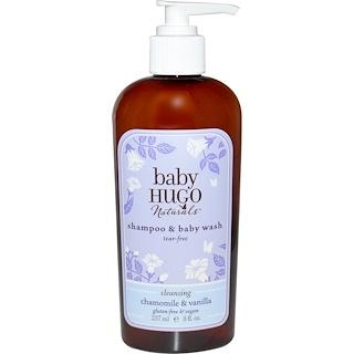 Hugo Naturals, Baby, Shampoo & Baby Wash, Tear-Free, Chamomile & Vanilla, 8 fl oz (237 ml)