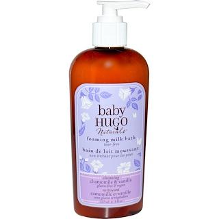 Hugo Naturals, Baby, Foaming Milk Bath, Chamomile & Vanilla, 8 fl oz (237 ml)