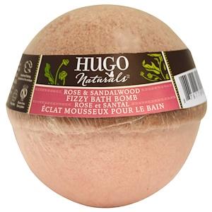 Хьюго Нэчуралс, Fizzy Bath Bomb, Rose & Sandalwood, 6 oz (170 g) отзывы покупателей