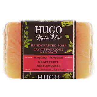 Hugo Naturals, Handcrafted Soap, Grapefruit, 4 oz (113 g)