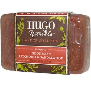 Хьюго Нэчуралс, Handcrafted Soap, Indonesian Patchouli & Sandalwood, 4 oz (113 g) отзывы покупателей