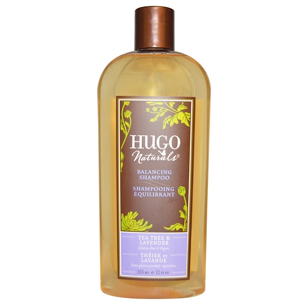 Hugo Naturals, Balancing Shampoo, Tea Tree & Lavender, 12 fl oz (355 ml)
