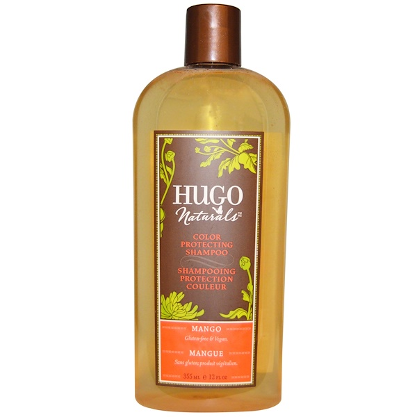 Hugo Naturals, Color Protecting Shampoo, Mango, 12 fl oz (355 ml) (Discontinued Item)