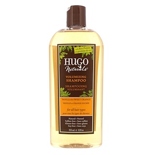 Hugo Naturals, Volumizing Shampoo, Vanilla & Sweet Orange, 12 fl oz (355 ml)