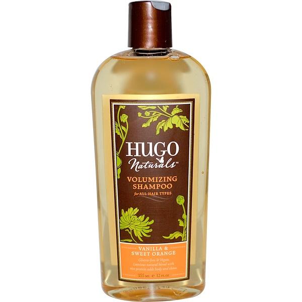 Hugo Naturals, Volumizing Shampoo, Vanilla & Sweet Orange, 12 fl oz (355 ml)