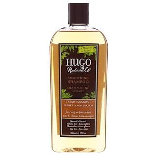 Hugo Naturals, Smoothing Shampoo, Creamy Coconut, 12 fl oz (355 ml)