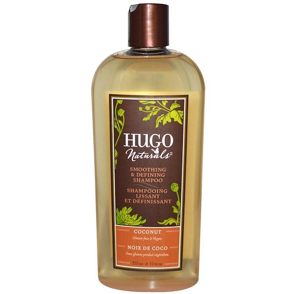 Hugo Naturals, Smoothing & Defining Shampoo, Coconut, 12 fl oz (355 ml)