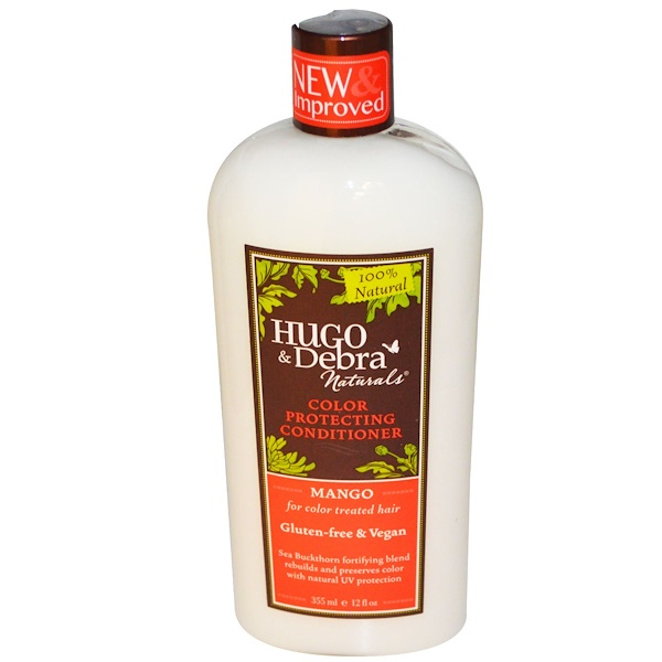Hugo Naturals, Color Protecting Conditioner, Mango, 12 fl oz (355 ml)