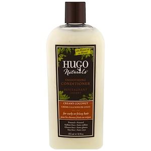 Хьюго Нэчуралс, Smoothing Conditioner, Creamy Coconut, 12 fl oz (355 ml) отзывы покупателей