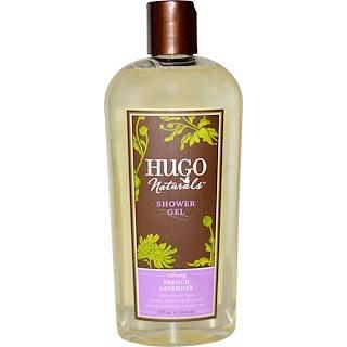 Hugo Naturals, Shower Gel, French Lavender, 12 fl oz (355 ml)