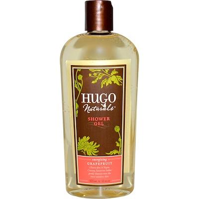 Hugo Naturals 葡萄柚香型沐浴露,12液體盎司,355毫升