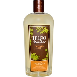 Hugo Naturals, 乳木果油&燕麥成分沐浴露,12盎司(355毫升)