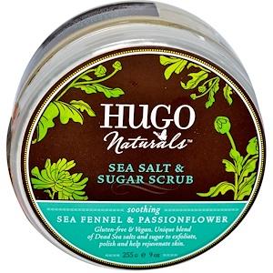 Хьюго Нэчуралс, Sea Salt & Sugar Scrub, Sea Fennel & Passionflower, 9 oz (255 g) отзывы покупателей
