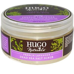 Хьюго Нэчуралс, Dead Sea Salt Scrub, French Lavender, 9 oz (255 g) отзывы покупателей