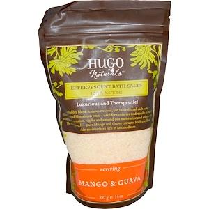 Хьюго Нэчуралс, Effervescent Bath Salts, Mango & Guava, 14 oz (397 g) отзывы покупателей