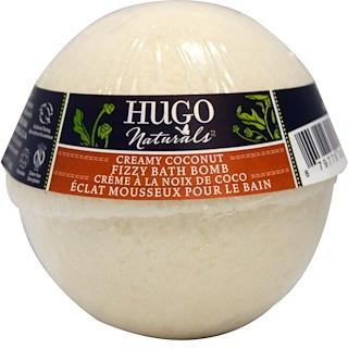 Hugo Naturals, フィジーバスボム、クリーミーココナツ、6 oz (170 g)