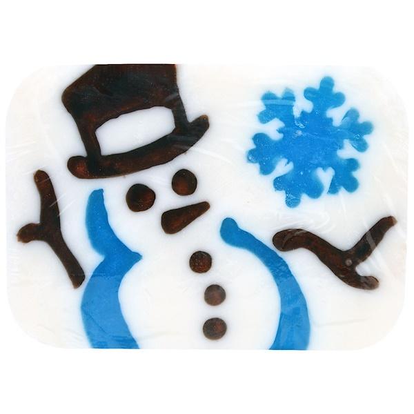 """Hugo Naturals, """"Снеговик в канун зимы"""" мыло ручной работы со снеговиком, 6 унций (170 г) (Discontinued Item)"""