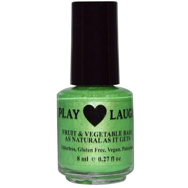 Hugo Naturals, Nail Polish, Go For The Green, 0.27 fl oz (8 ml) (Discontinued Item)