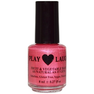 Hugo Naturals, Nail Polish, Merry Berry Berry, 0.27 fl oz (8 ml)