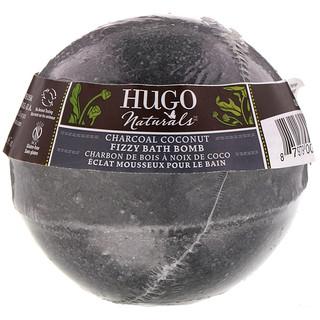 Hugo Naturals, フィジーバスボム、チャコールココナッツ、7 oz (198 g)