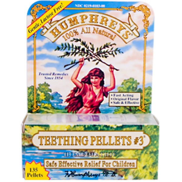 Humphrey's, Teething Pellets #3, 135 Pellets (Discontinued Item)