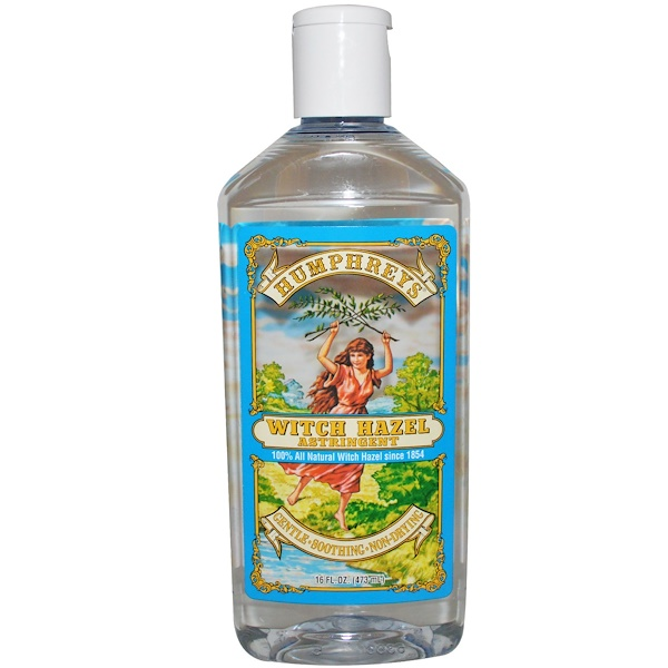Humphrey's, Witch Hazel Astringent, 16 fl oz (473 ml) (Discontinued Item)