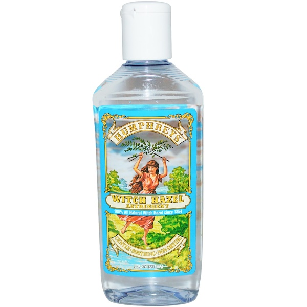 Humphrey's, Witch Hazel Astringent, 8 fl oz (237 ml) (Discontinued Item)
