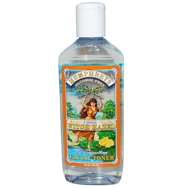 Humphrey's, Citrus Witch Hazel, Oil Controlling Facial Toner, 8 fl oz (237 ml)