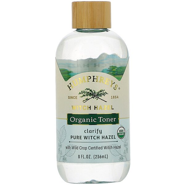 Humphrey's, Witch Hazel, Certified Organic Toner, Clarify, 8 fl oz (236 ml)