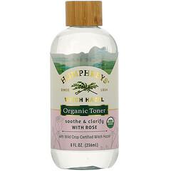 Humphrey's, 金縷梅,玫瑰有機爽膚水,舒緩和潔淨,8 盎司(236 毫升)