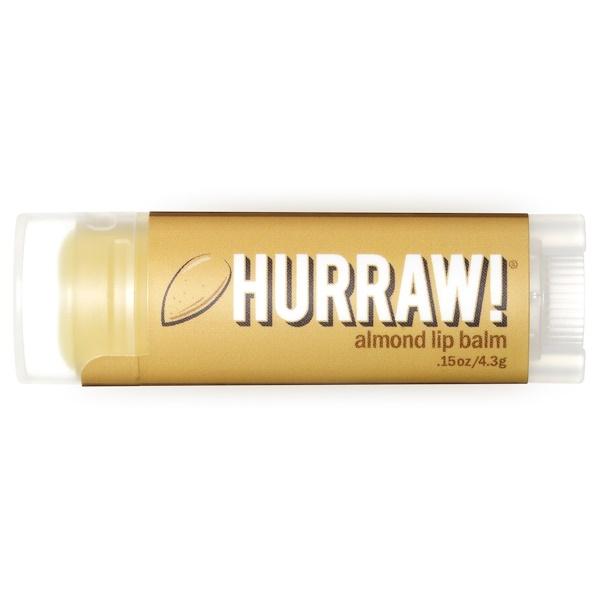 Hurraw! Balm, Lip Balm, Almond, .15 oz (4.3 g)