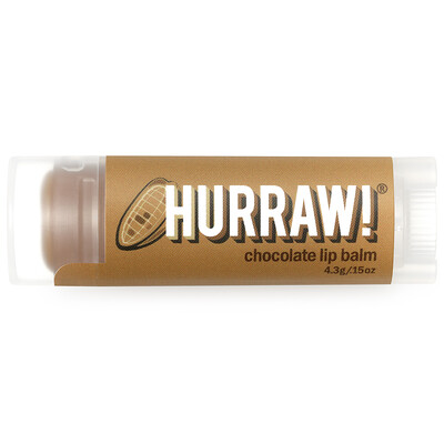 Купить Бальзам для губ со вкусом шоколада, 0, 15 унций (4, 3 г)