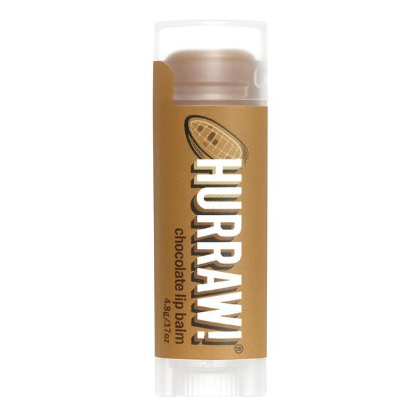 Hurraw! Balm, Lip Balm, Chocolate, .17 oz (4.8 g)