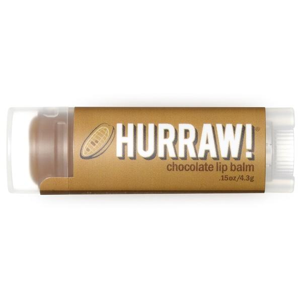 Hurraw! Balm, Lip Balm, Chocolate, .15 oz (4.3 g)