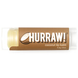 Отзывы о Hurraw! Balm, Бальзам для губ, Кокос, 0,15 унций (4.3 г.)