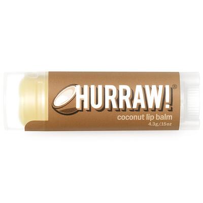Купить Бальзам для губ, с кокосовым маслом, 4, 3 г (0, 15 унции)