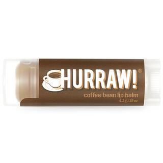 Hurraw! Balm, Bálsamo para Labios, Grano de Café, .15 oz (4.3 g)