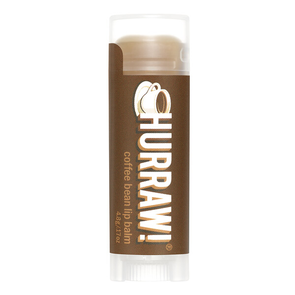 Hurraw! Balm, Lip Balm, Coffee Bean, .17 oz (4.8 g)