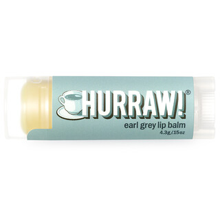Hurraw! Balm, Lip Balm, Earl Grey, .15 oz (4.3 g)