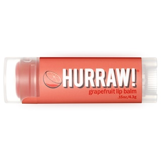 Hurraw! Balm, Lip Balm, Grapefruit, .15 oz (4.3 g)