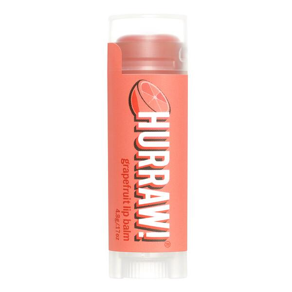 Hurraw! Balm, Lip Balm, Grapefruit, .17 oz (4.8 g)